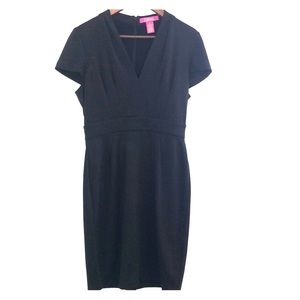 Catherine Malandrino Black Dress Sz 10